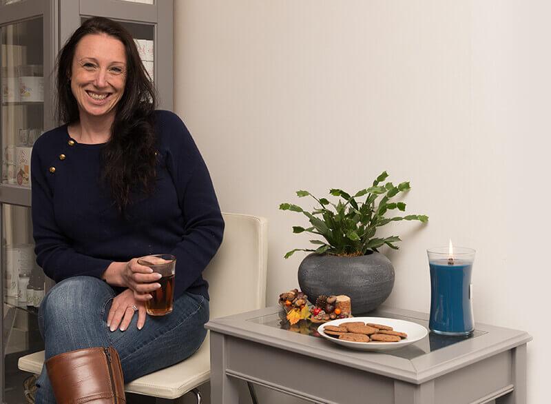 Iris Vogelezang van The Slim Company