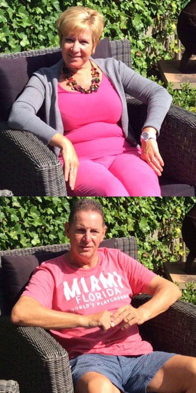 Anita en Mark vielen samen 34 kg af